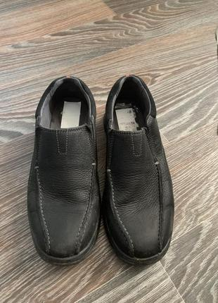 Мужские туфли , мокасины clark's