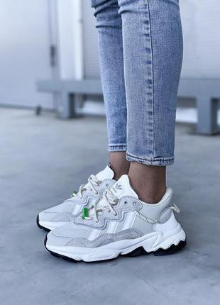 Adidas ozweego 🍍женские кроссовки адидас 🍍натуральная кожа