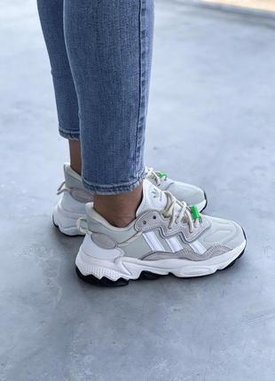 Adidas ozweego 🍍женские кроссовки адидас 🍍натуральная кожа2 фото