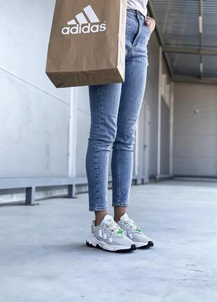 Adidas ozweego 🍍женские кроссовки адидас 🍍натуральная кожа3 фото