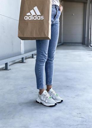 Adidas ozweego 🍍женские кроссовки адидас 🍍натуральная кожа9 фото