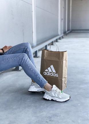 Adidas ozweego 🍍женские кроссовки адидас 🍍натуральная кожа8 фото
