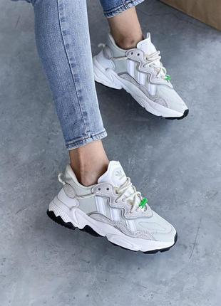 Adidas ozweego 🍍женские кроссовки адидас 🍍натуральная кожа6 фото