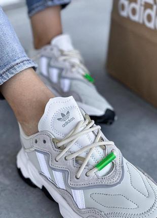 Adidas ozweego 🍍женские кроссовки адидас 🍍натуральная кожа7 фото