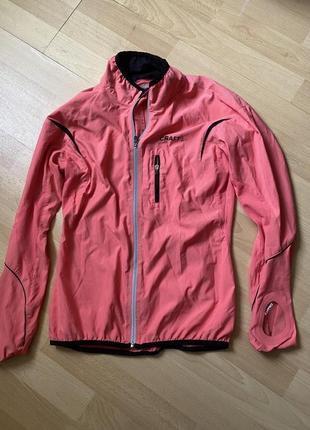 Красивая куртка ветровка crafted