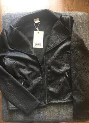 Новый ‼️чёрный фактурный пиджак