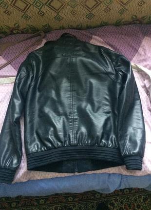 Colin's куртка кожаная