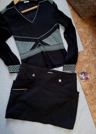 Karen millen идеальная мини юбка