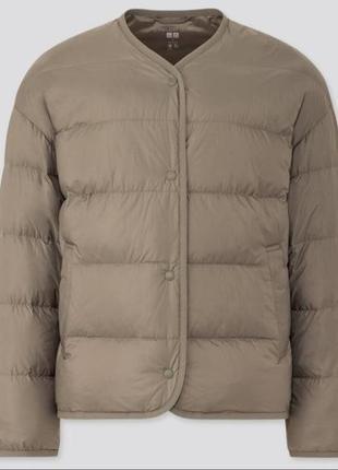 Ультралегкая пуховая куртка uniqlo