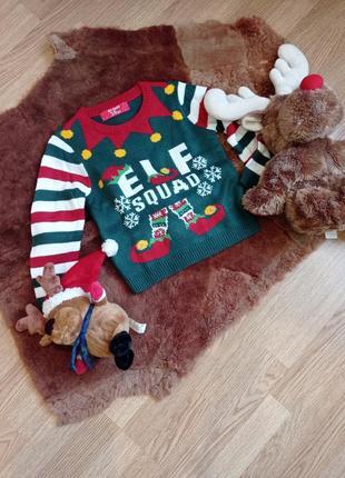 Новогодний свитерочек
