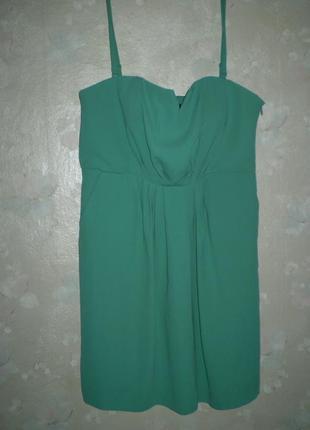 Сарафан открытое платье oasis р.50 l-xl uk16 eur42