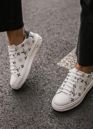 Кроссовки женские louis vuitton sneakers white