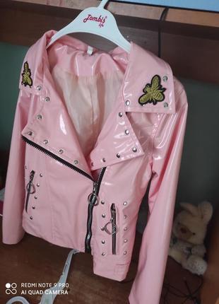 Крута куртка на дівчинку