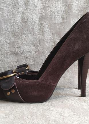 Туфлі замшеві guess 34 розмір