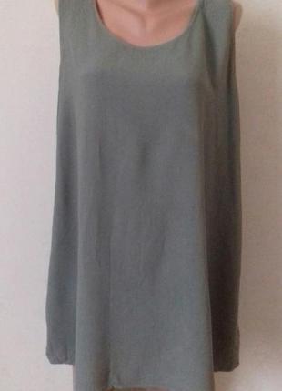 Новая вискозная блуза большого размера