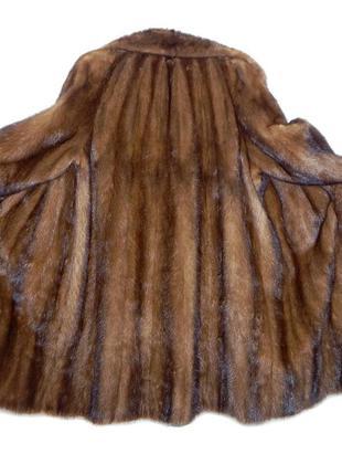 Норковое пальто demi buff №015