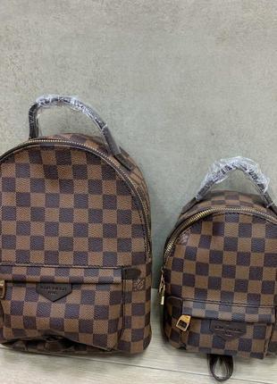 Рюкзак шахматка в стиле louis vuitton 💣
