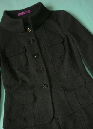 Теплый шерстяной костюм от marc cain