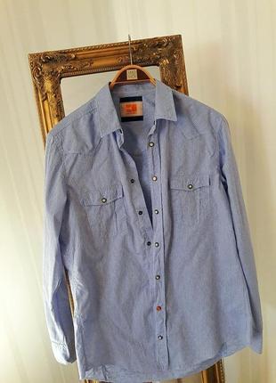 Рубашка в принт #hugo boss #оригинал