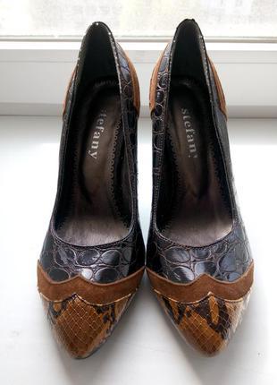 Стильные туфельки, stefany, 37р-38р.