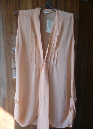 Удлиненная блуза miss selfridge