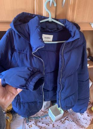 Куртка осенняя синяя