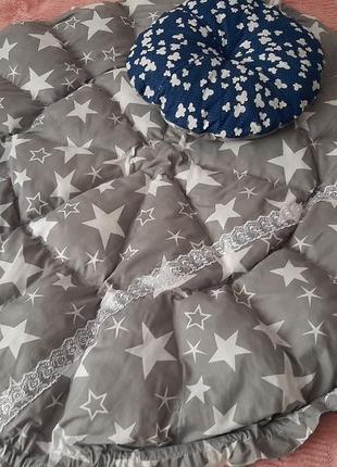Коврик-подушка 3в1