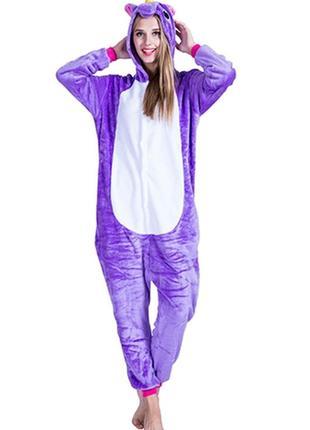 Пижама кигуруми единорог фиолетовый пони