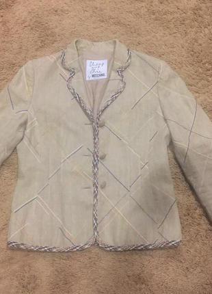 Шикарный летний пиджак оригинал