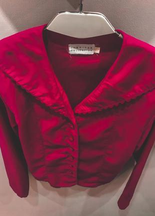 Блуза из натуральной ткани
