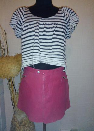 Dkny jeans, стильная юбка,