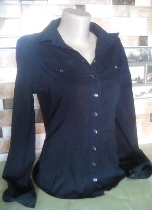 Рубашка котоновая стрейч