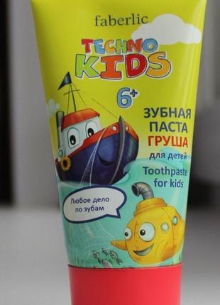 Детская щубная паста 6+ груша