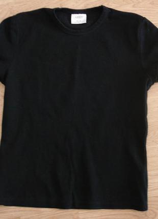 Трикотажная футболка с рукавами