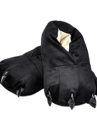 Супер мягкие и удобные тёплые тапочки с обхватом всей стопы