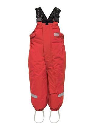 Зимний детский полукомбинезон штанишки для девочки legowear р.92-98 reima columbia lenne