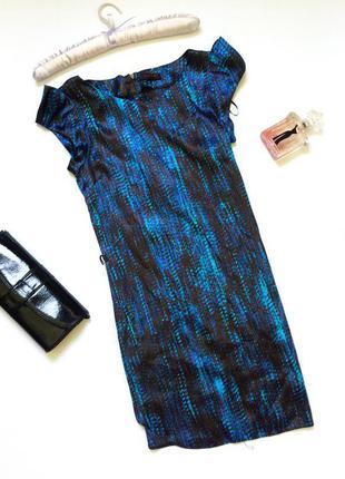 Шикарное женское атласное платье хс-с