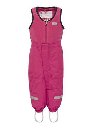Детский зимний полукомбинезон штанишки для девочки р.98-104 legowear reima lenne columbia