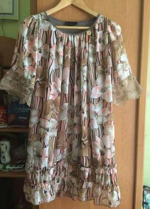 Туника платье sassofono