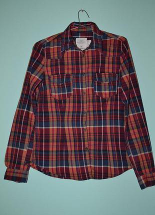 Стильная хлопковая рубашечка от h&m.