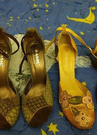 Bretti, basic  кожаные туфли р.38, стелька 25 см