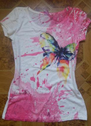 Стильная футболка zebra