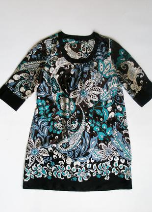 Туника - платье 100% шелк