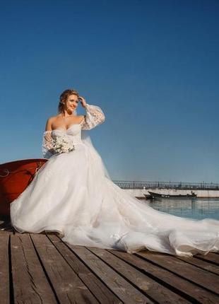 Свадебное платье crystal коллекция 2021