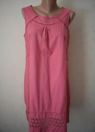 Льняное платье f&f