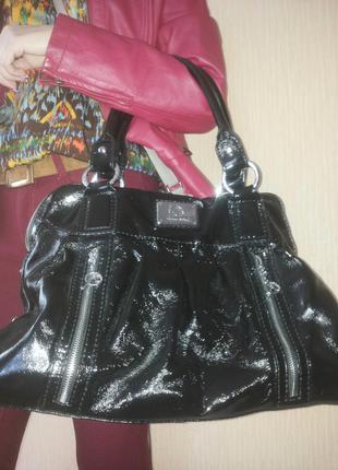 Кожаная сумка размера «оверсайз» jacques esterel
