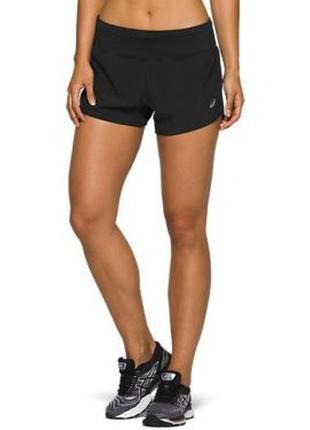 Спортивные шорты asics ® women's shorts s\xs для бега\фитнеса\зала