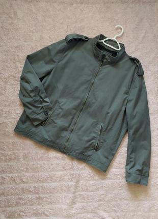 Джинсовый пиджак р.52