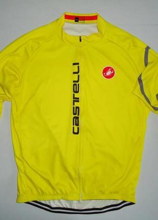 Велоджерси castelli long sleeve cycling jersey велокофта велоформа (4xl)