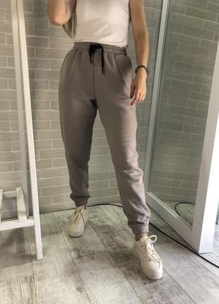 Тёплые спортивные штаны, замеры xs-m